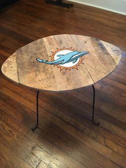 Miami Dolphins Table