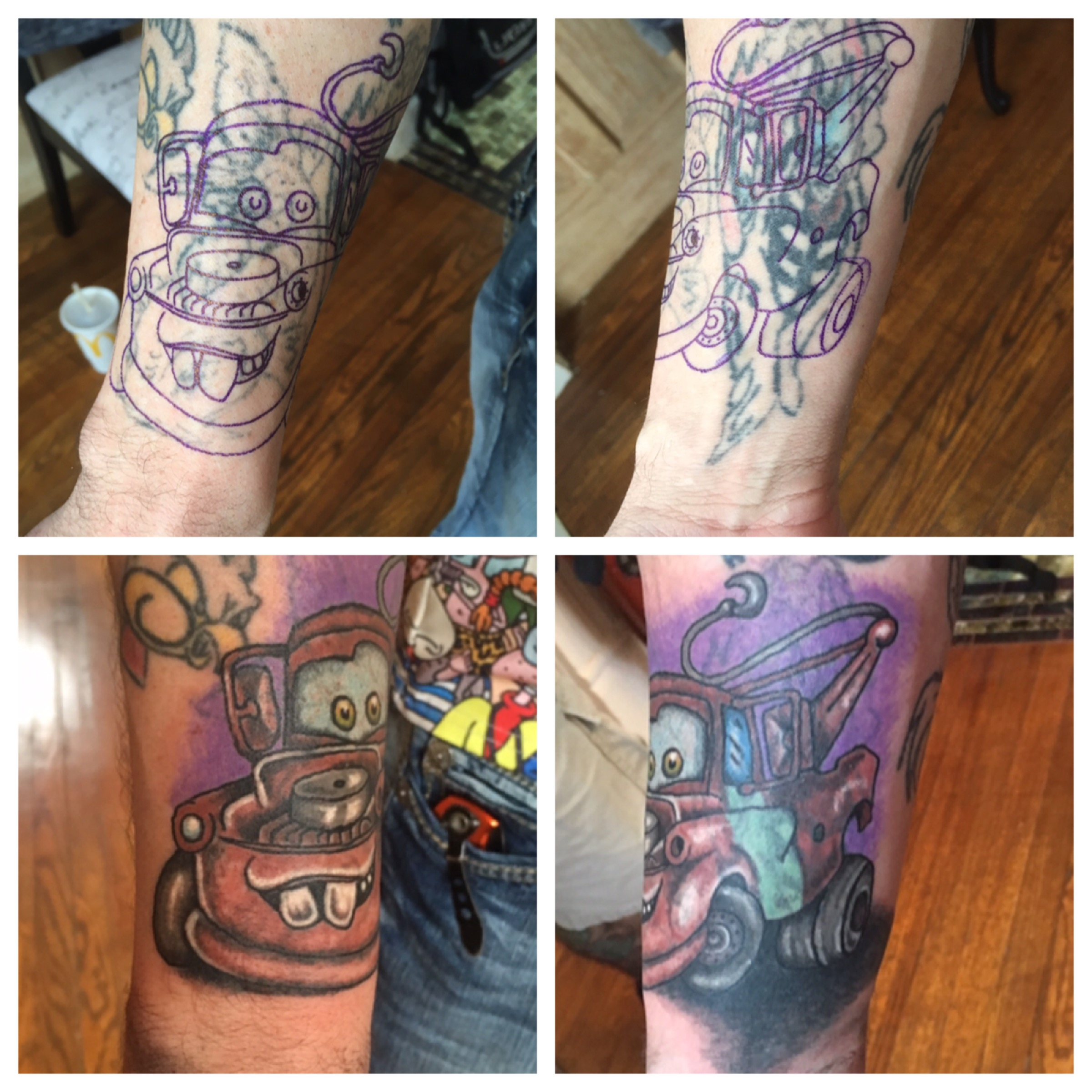 Towmater Cover up tattoo