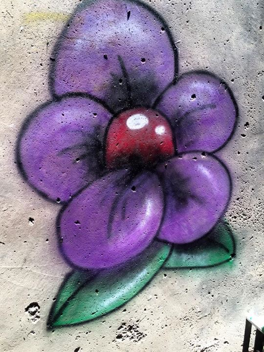 Graffiti Flower