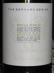 Bellingham - The Bernard Series - Whole Bunch Grenache Blanc - Viognier