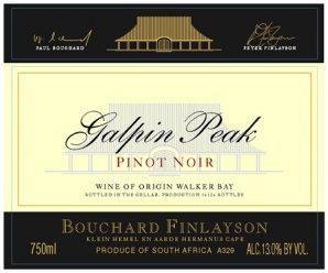 Bouchard Finlayson - Galpin Peak - Pinot Noir
