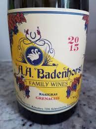 AA Badenhorst Family Wines - Raaigras Grenache