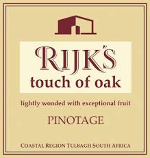 Rijk's - Pinotage - Touch of oak