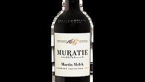 Wijn van de maand december Muratie - Martin Melck -  Cabernet Sauvignon Reserve