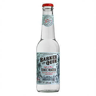 "Barker & Quin Tonic Water ""Light at Heart"""