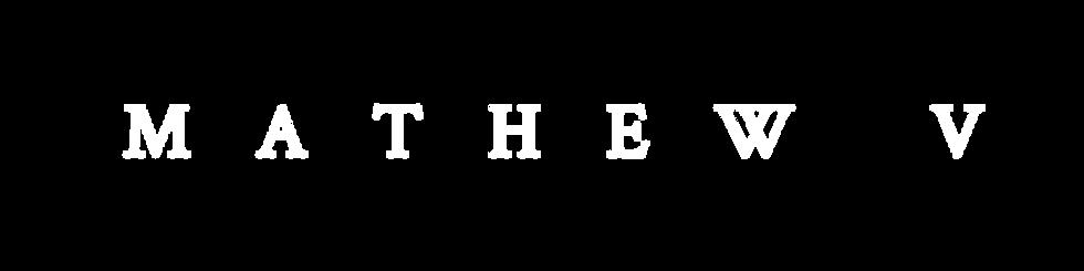 Mathew V logo