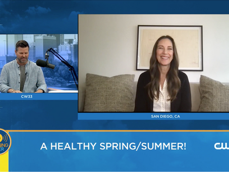 Products for a Healthy Spring/Summer with CW Dallas