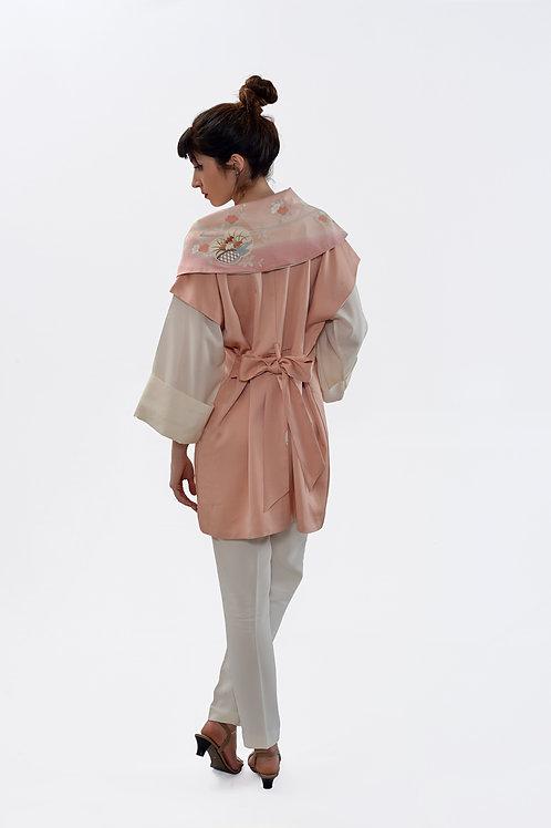 Short dress and coat
