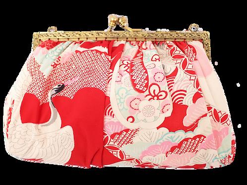 Crane Antique Silky Kimono