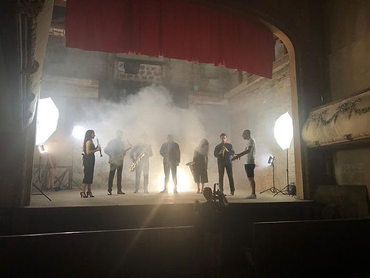 Tournage du clip Moussorgski avec Monxy_films