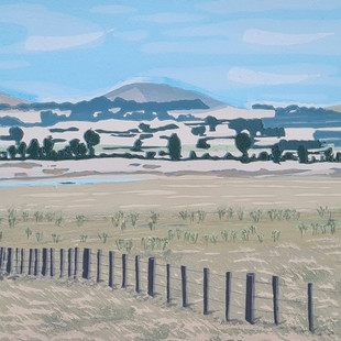 Patchwork hills and the Golden Plains