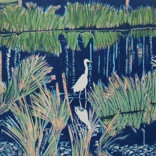 The white heron