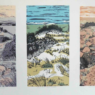 One day at Venus bay (tryptych)