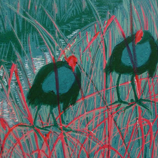 Red reeds