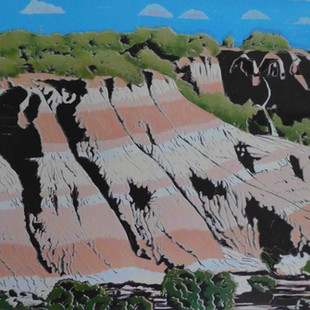 The red cliffs of Red Cliffs