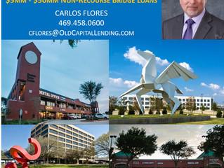 OFFICE & RETAIL: $5MM - $50MM Non-Recourse Bridge Loans