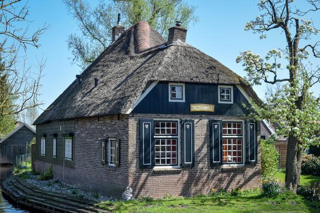 Bultrugboerderij in Giethoorn