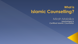 "Video ""What Is Islamic Counselling?"""