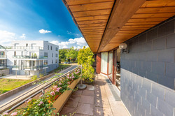 Immobilienmakler-Maisonettewohnug
