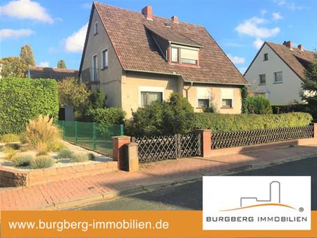-VERKAUFT- Gehrden – solide gebautes Einfamilienhaus mit ganz viel Potenzial