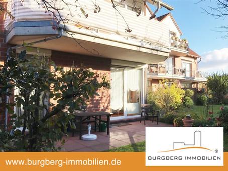 *NEU* Barsinghausen / OT Egestorf – sehr schicke, sonnige Wohnung im EG mit großer Terrasse