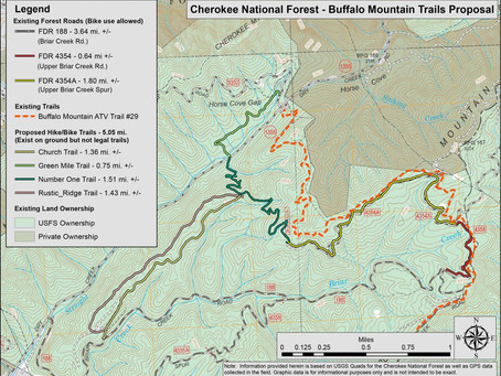 U.S. Forest Service seeking input on Buffalo Mountain trail proposal