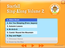 Starfall Sing-Along Vol. 2