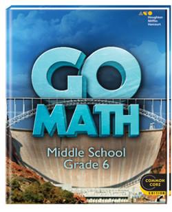 GoMathGrade 6 Middle School