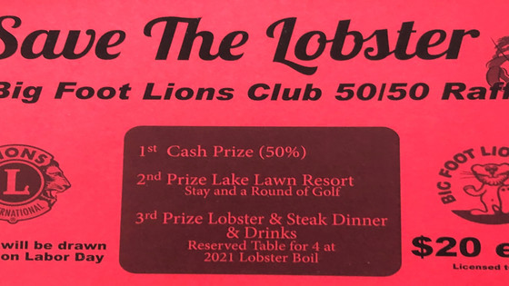 Big Foot Lions Roar Back with Raffle!