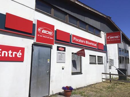 Nytt samarbete med Piscators Bilverkstad