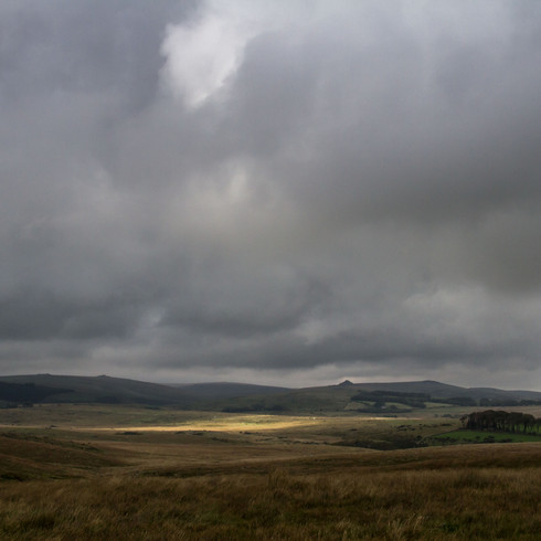 Dartmoor clouds and light