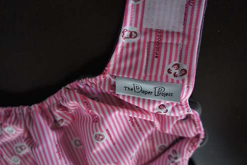 Pink Ladies Diaper - Newborn/Size 1