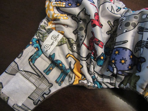 Nine Lives Diaper - Newborn/Size 1