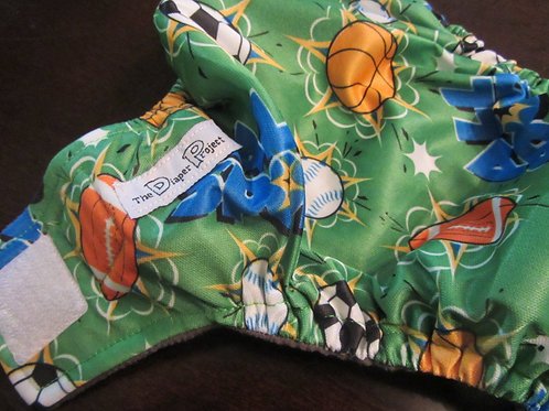 Sports Envy Diaper - Newborn/Size 1