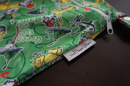 Green Eggs Wet Bag