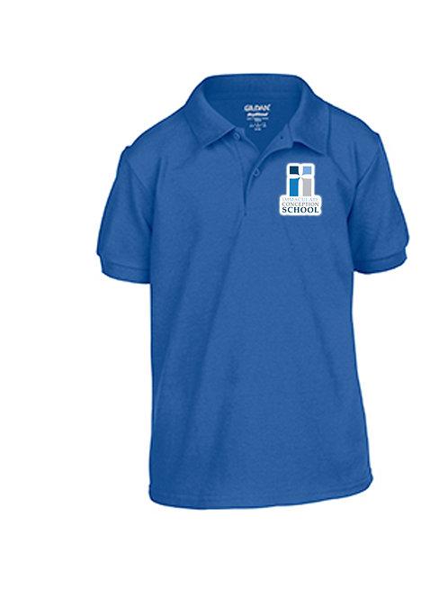 Mass Shirt - Adult Royal Blue Polo