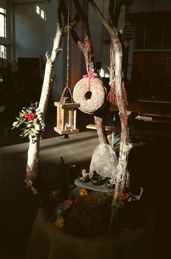 Sadonkorjuualttari - Harvest Altar