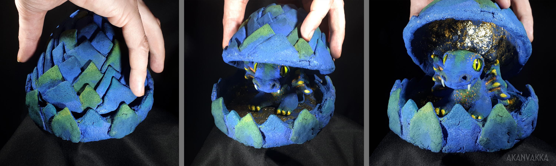 Lohikäärme munassa - Dragon Egg