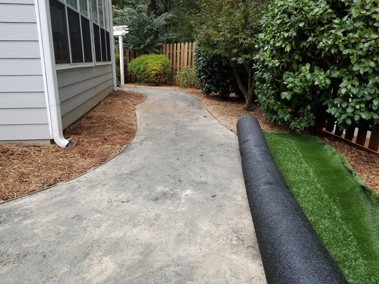 Synthetic Turf Pathway