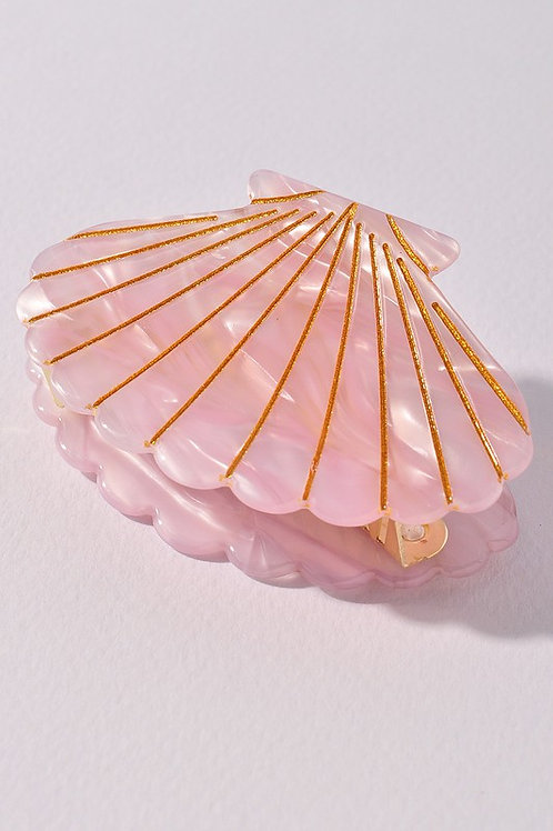 Shell Hair Accessory - Pink