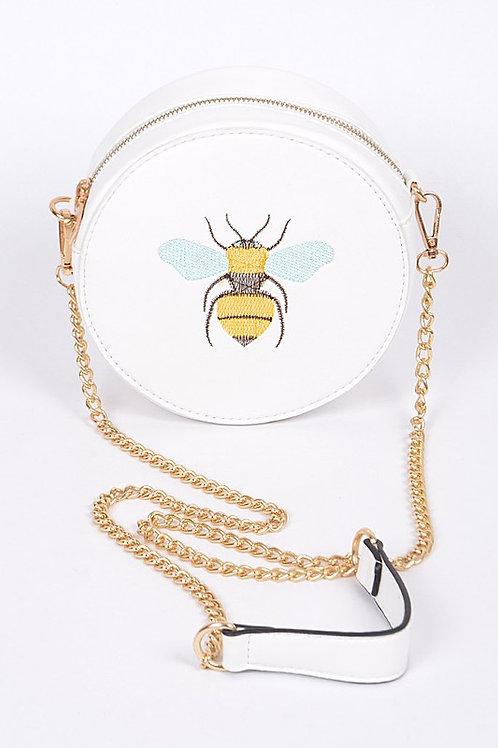 Bee Circular Clutch Bag