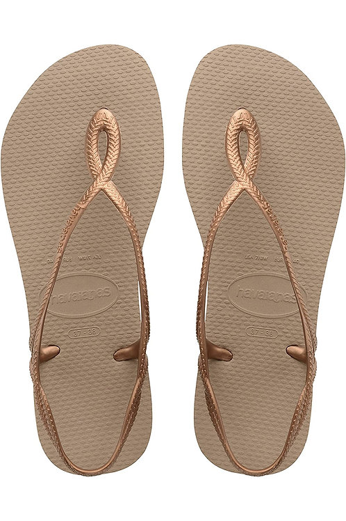 Havaianas Girls Flip Flop Sandal - Rose Gold