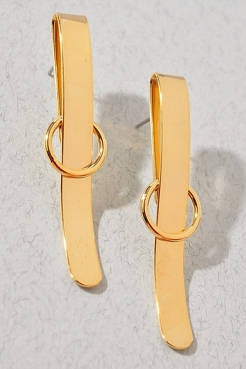 Belt Effect Earrings (Preorder)