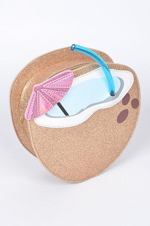 Coconut Clutch Bag