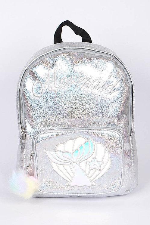 Mermaid Backpack - Silver