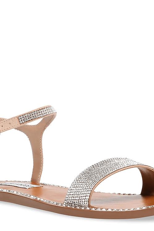 Rhinestone Strap Sandals
