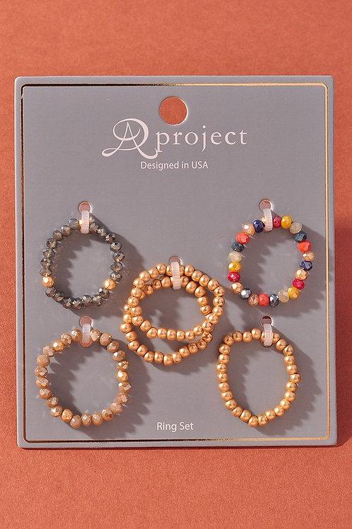 Bead Ring Assortment Set