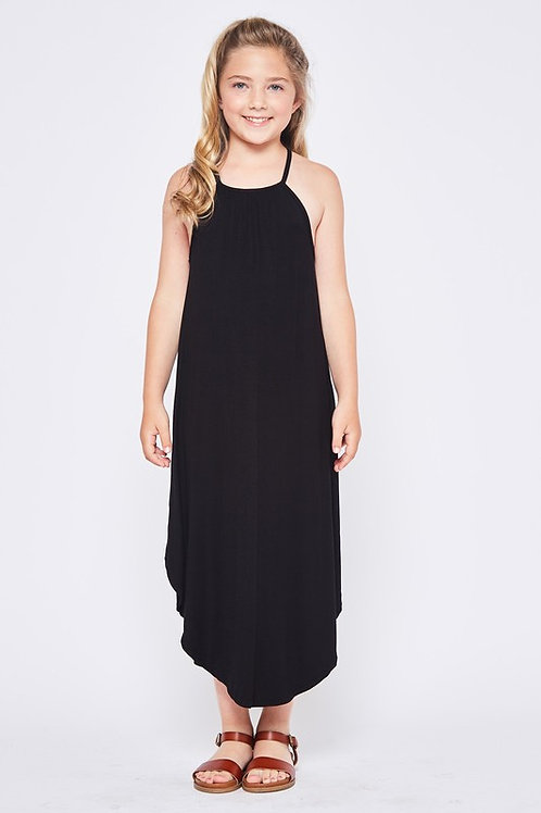 Spaghetti Strap Maxi Dress - Available in Pink