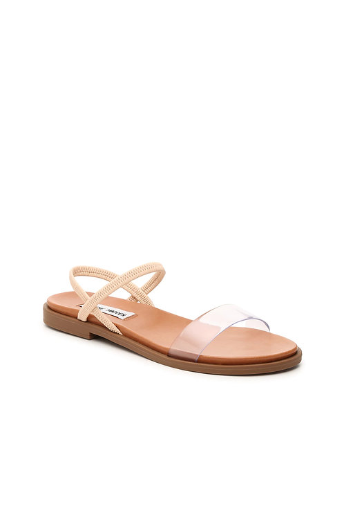 Clear/Nude Simple Strap Sandals (Preorder)