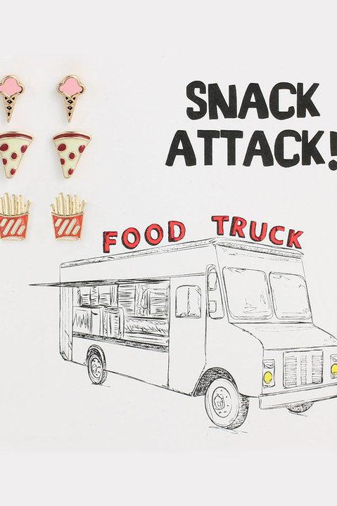 Snack Attack Stud Earrings